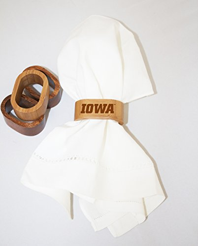 University of Iowa Napkin Rings by The College Artisan (Image #1)