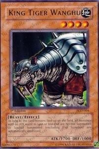 Yu-Gi-Oh! - King Tiger Wanghu (PGD-004) - Pharaonic Guardian - Unlimited Edition - Rare