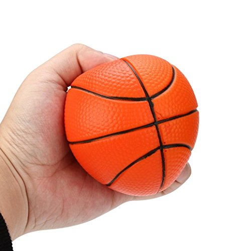 (OVERMAL Basketball Squishy Slow Rising Cream Scented Decompression Kid Toys)
