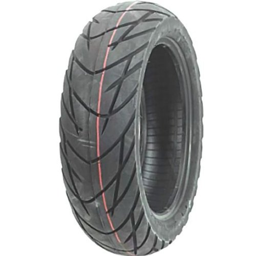 Duro HF912A Sport Scooter Tire - Front/Rear - 120/70-12 , Position: Front/Rear, Tire Size: 120/70-12, Rim Size: 12, Tire Ply: 4, Load Rating: 51, Speed Rating: J, Tire Type: Scooter/Moped 25-912A12-120 by Duro