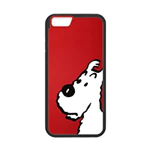 """HXYHTY Tintin & Milou Phone Case For iPhone 6 (4.7"""") [Pattern-1]"""