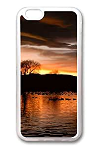 iPhone 6 TPU Clear Soft And Many Design iPhone Case Latest style Case Suit iPhone5/5S Very Nice And Ultra-thin Case Easy To Operate Background Sunset