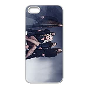 iPhone 4 4s Cell Phone Case Covers White Leaves' Eyes B2G6I