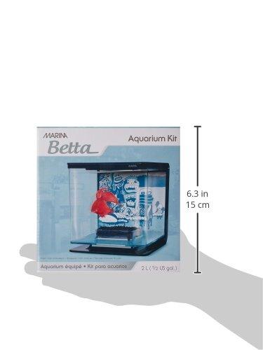 Marina Betta Starter Kit for Aquarium