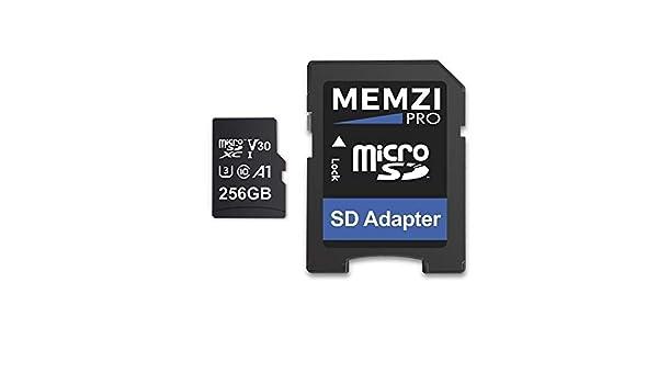 MEMZI PRO 256 GB 100 MB/s V30 Tarjeta de Memoria Micro SDXC ...