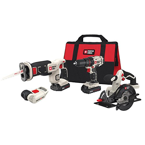 - PORTER-CABLE PCCK616L4 Power Tool Combo Kit