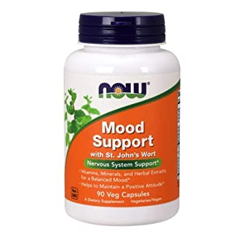 Now Foods Mood Support with St Johns Wort, 90 vcaps 6 pack