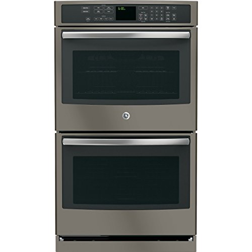 """GE Profile PT7550EHES 30"""" Double Electric Wall Oven in Grey"""