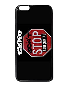 The Black Eyed Peas Don't Stop The Party Logo Fashion Cute Design Pattern Hard Back Case Cover Skin For Apple iPhone 6 Plus 5.5 inches