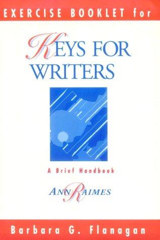 Keys for Writers Exercises