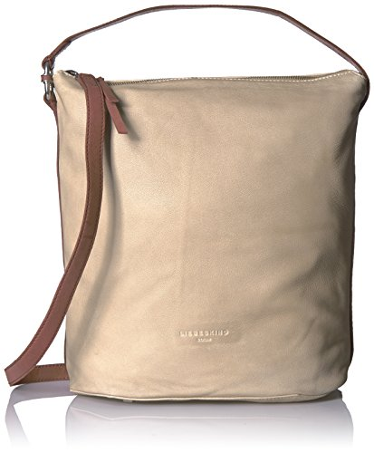 Liebeskind Leather Hallowell Hobo Sand with Ring Women's Metro Detail Berlin SrqSf
