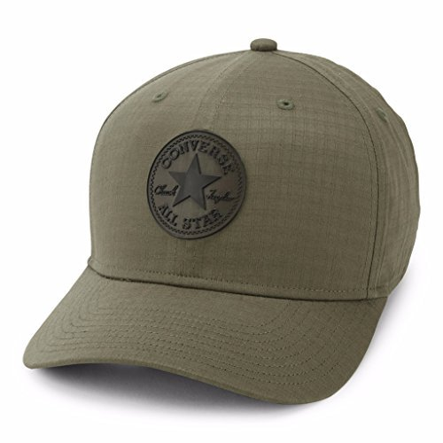 c8cef5ff3d7 Galleon - Converse Ripstop Curved Snapback Cap - Olive