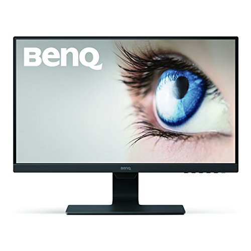 BenQ (GW2480) 23.8 Inch FHD 1080p Eye-Care LED Monitor, 1920x1080 Display, IPS ,Brightness Intelligence, Low Blue Light, Flicker-free, Ultra Slim Bezel, Cable Management System, HDMI