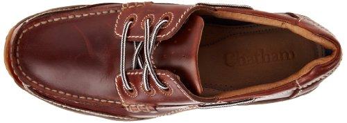 Chatham,  Zapatillas de cuero nobuck para hombre Marrón (Chesnut)