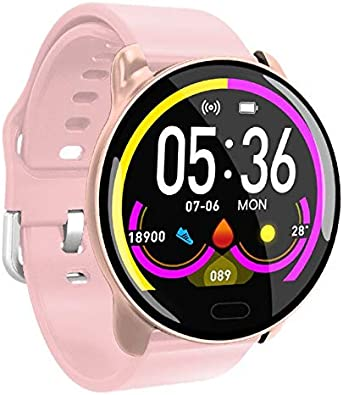 Amazon.com: Smartwatch with Heart Rate - Music Watch Monitor ...