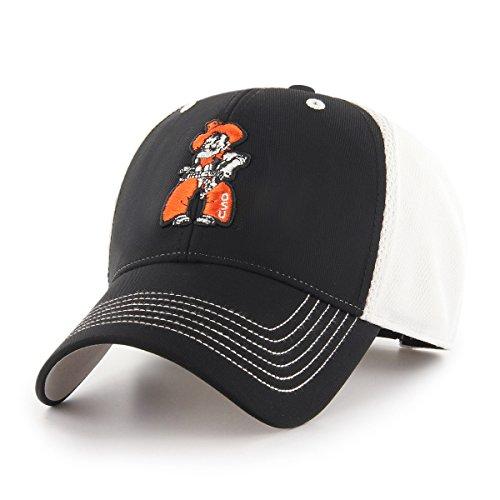 OTS NCAA Oklahoma State Cowboys Sling All-Star MVP Adjustable Hat, Black, One Size (Oklahoma State Basketball Cowboys)