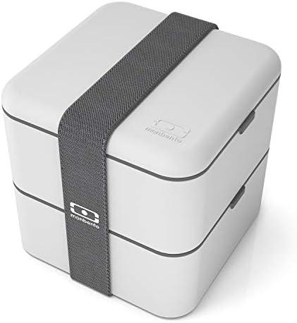 Amazon.com: Monbento MB Square Bento - Caja de almacenaje ...