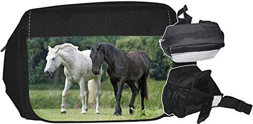+++ PFERD Pferde - GÜRTELTASCHE Bauchtasche Futterbeutel HÜFTTASCHE Tasche - PFD 06
