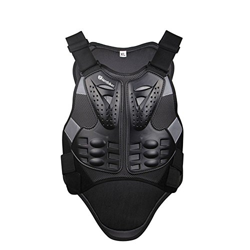 HEROBIKER Motorcross Racing Armor Black Motorcycle Riding Body Protection Jacket With A Reflecting Strip Motorcycle Armor