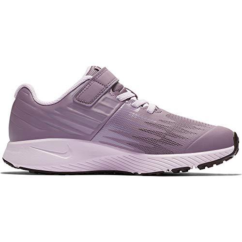 (NIKE Girl's Star Runner (PSV) Pre-School Shoe Violet Dust/Lt Arctic Pink Size 1 M US)
