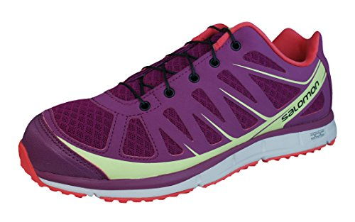 Salomon Kalalau Womens Hiking / Walking Sneakers / Shoes Purple