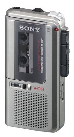 Sony M-570V Microcassette Voice Recorder by Sony