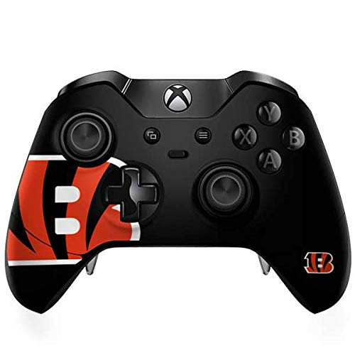 Skinit Cincinnati Bengals Large Logo Xbox One Elite Controller Skin - Officially Licensed NFL Gaming Decal - Ultra Thin, Lightweight Vinyl Decal -