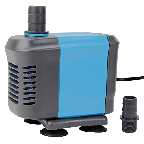 Aquaneat 1000 GPH Submersible Water Pump with Filter Sponge Pond Aquarium Fish Tank Fountain Hydroponic by Aquaneat