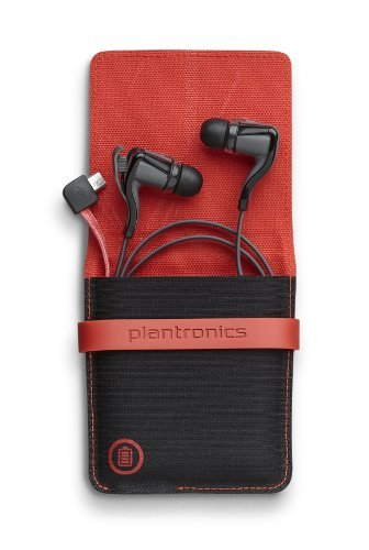 - Plantronics BackBeat Go 2 Wireless Hi-Fi Earbud Headphones with Charging Case - Compatible with iPhone and other Smart Devices - Black (Renewed)