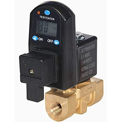 13 mm Drain Orifice 720 psi 34 Degree F to 176 Degree F 1//2 FPT 115V Midwest Control DTDV13-50-720 Digital Automatic Electronic Timer Drain 1//2 FPT