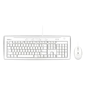 macally usb wired full size keyboard and mouse combo for mac and pc with 2 built in. Black Bedroom Furniture Sets. Home Design Ideas