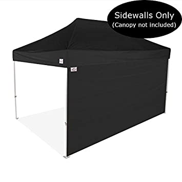 Impact Canopy 15-Foot Canopy Tent Wall, Sidewall Only, Black