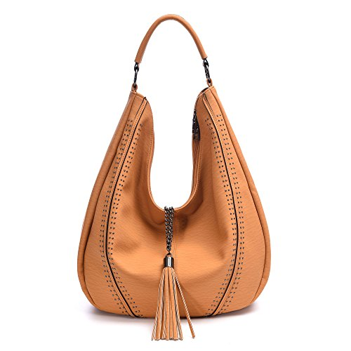 Handbags for Women Hobo Shoulder Bags Leather Tote PU Fashion Large Capacity Purses