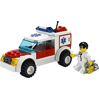 LEGO City 7902 Doctor's Car [Toy]: Toys & Games