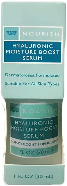 Hyaluronic Moisture Boost Serum - Promotes Collagen Production, 1 Fl. Oz