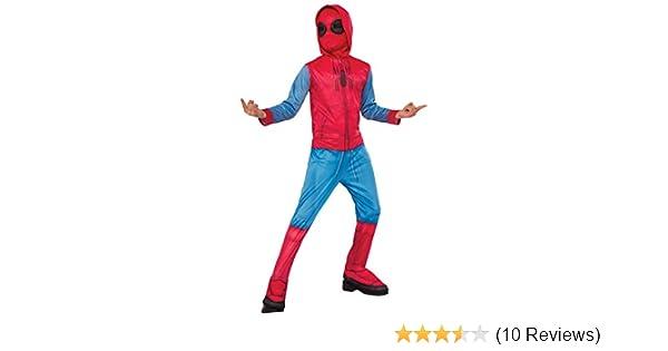 Rubies Spider-Man: Homecoming Childs Homemade Suit Costume, Medium