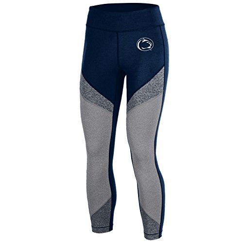 Penn State Nittany Lions Under Armour Women Compression Navy Crop Leggings (M)