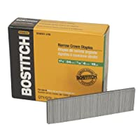 BOSTITCH SX50351-3/8G 1-3/8-Inch by 18 Gauge by 7/32-Inch Crown Finish Staple, 3,000 per Box
