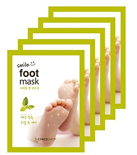 The Face Shop Smile Foot Mask (The Face Shop Smile Foot Mask 5pair) by The Face Shop