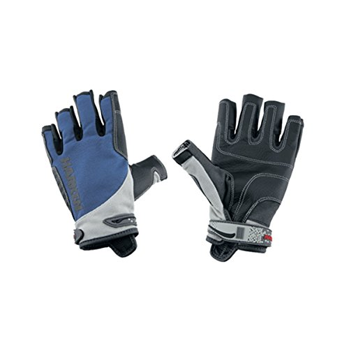 Harken Sport Spectrum 3/4 Finger Gloves, Blue, Small by Harken Sport