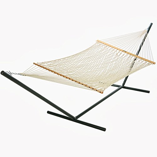 Pawleys Large DuraCord® Rope Hammock - Oatmeal Rope Hammocks (Duracord Outdoor Rope Hammock)