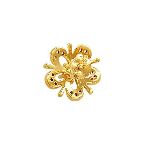 Giantti 14carats Diamant pour femme Boucles d'oreille à tige (0.2574CT, VS/Si-clarity, Gh-colour)