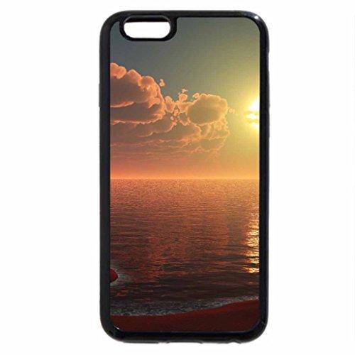 iPhone 6S / iPhone 6 Case (Black) Redside Cove Wide