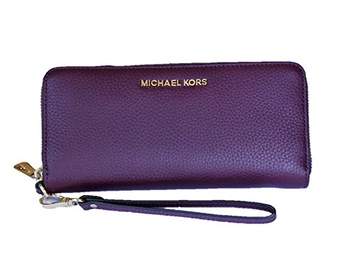 Jet Set Continental Wallet (Michael Kors Jet Set Travel Continental Wallet Plum)