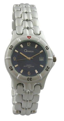 Orphelia 142-7610-98 Men's Analog Quartz Watch with Aluminum Bracelet