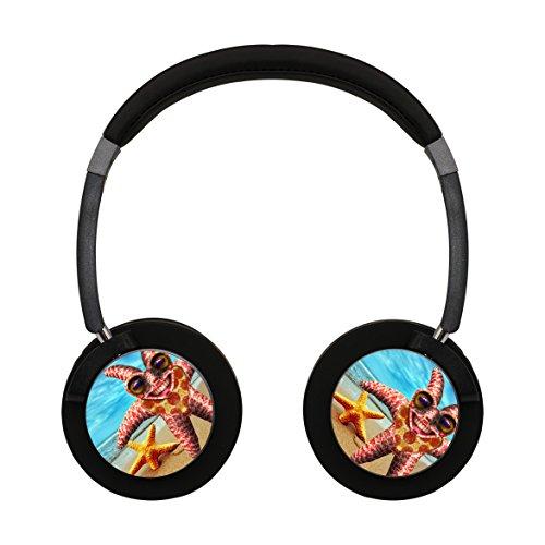 Unique Personal Top Notch Wireless Headset Funny Strange Starfish Cell Phone Calls Portable Headphones - Marin Jacob Sunglasses