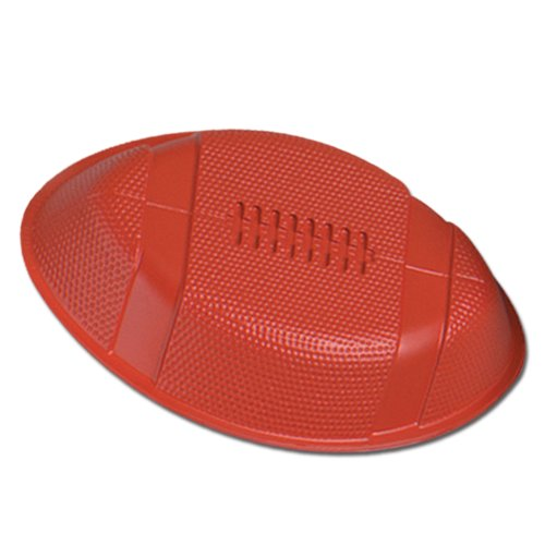 Beistle 55801 24-Pack Plastic Football Trays for Parties, (Plastic Football Trays)