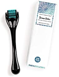 540 Titanium Micro Needle Derma roller .25mm Hair Beard...