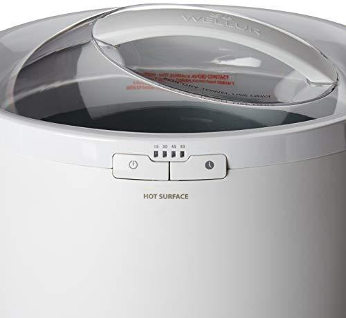 Towel Warmer Bucket - White