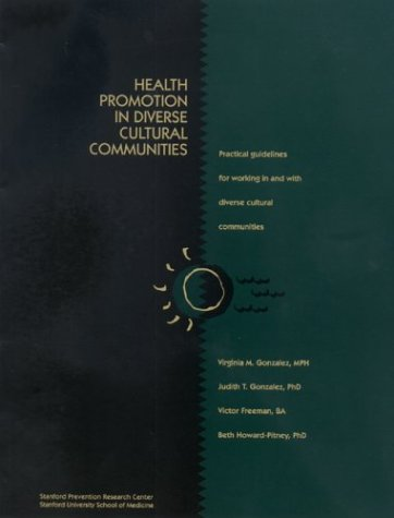 Health Promotion in Diverse Cultural - Ctr Stanford